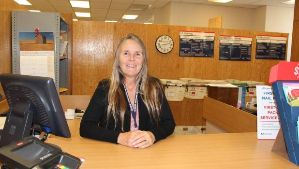 Joni Svoboda, Alexandria, has been named postmaster at the Staples Post Office. (Staples World photo by Dawn Timbs)