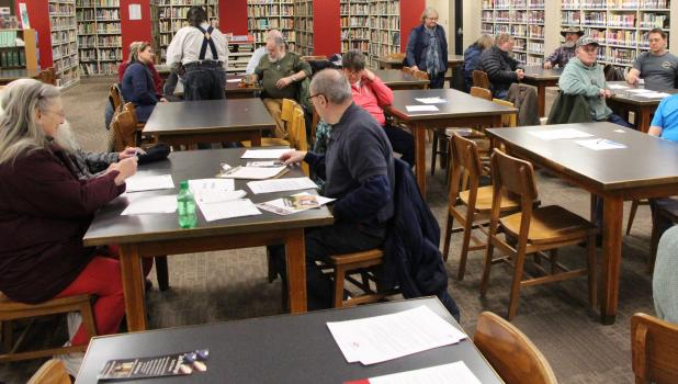 The Republican Party Caucus had 20 people attending. Todd County favored Jeff Johnson, who also won the state straw poll.