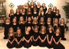 The Colla Voce Girl's Choir's spring concert will be held Monday, May 7, at 7 p.m. at the Staples Assembly of God Church. In the front row, from left, are Bella Hines, Chloe Trantina, Peyton Mikel, Suhaila Mikhaeil, Laney Danielson, Lily Davis and Kiya Pope; second row - Raina Mikhaeil, Melissa Anderson, Brianna Mitchell, Avaya Brandt, Kaylee Eckel, Sabina Moe, Autumn Kubichek, Brooke Bendson and Isabell Weigand; third row - Naila Mikhaeil, Estella Bock, Pamela Lawrence, Brooke Hansen, Torence Rodrigues, Ol