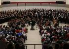 The Community Concert major work, held every other year, featured Handel's Messiah in 2015 held in the Staples-Motley High School gym. (Submitted photo)