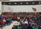 The Staples Area Women's Chorus (SAWC) hosted the 2017 Women's Choral Festival, 'Her Voice, Her Song,' in January at the Staples-Motley High School in Staples. (Submitted photos by RoAnn Trout)