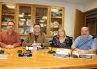 The Motley City Council recently  held their first regular meeting of 2017, with a new mayor and new council member on board, as well as two returning council members. Pictured above, from left, are Nate Douglas, beginning his first council term; Mayor Al Yoder, who formerly served as a council member; council member Amy Hutchison; and re-elected council member Steve Johnson. There is one vacant council seat, which will be filled at the council's regular meeting in February, per council vote (see story for