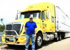 Jack Pate, Staples area, was chosen as Minnesota Trucking Association's (MTA) Truck Driver of the Month in July and is eligible for Truck Driver of the Year. See story for more information. (Submitted photo)