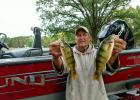 Mike Zauhar with two nice fall perch