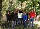 The Nolte farms, located near Sebeka in Wadena County, are now Water Quality Certified in the Minnesota Ag Water Quality Certification Program (MAWQCP). Pictured, from left, are Rita Nolte, Tim Nolte, Eric Nolte, Katie Hockett, Jacob Nolte, Eva Ehnert, Anne Oldakowski, Asst. Manager, Wadena SWCD (Soil & Water Conservation District), Dan Ehnert, Jim Lahn, MAWQCP Area Certification Specialist. (Submitted photo)