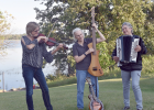 Caleigh, a Minnesota band, will perform at Music in the Park Series in Staples on Sunday, July 9, at 7 p.m. Pictured, from left, are Lenore Siems, Bemidji; Dee Furfaro, Pinewood;  and April Larson, Bagley area. The series is made possible with a gift from the Staples Host Lions Club. (Submitted photo)